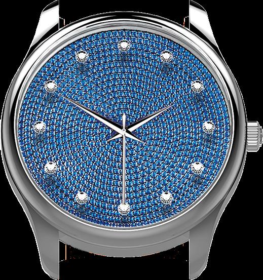Saphir bleu (IF-VS)