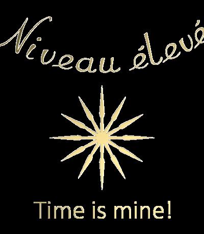 Niveau élevé Time is mine Logo