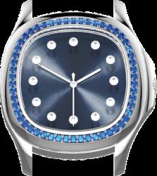 Saphir bleu (IF-VS